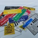 mikron uyarı etiketleri