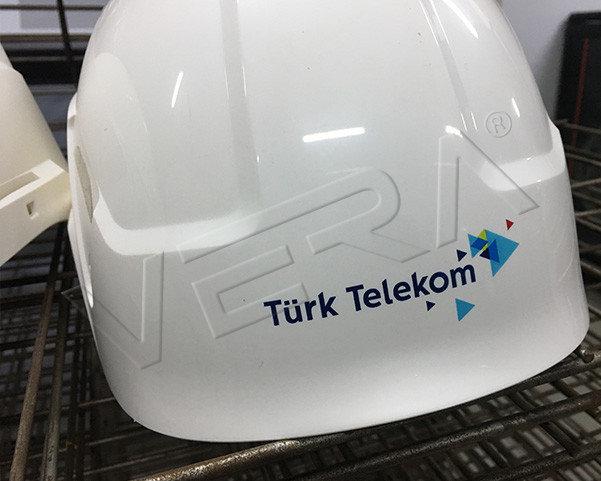 telekom baret baskı